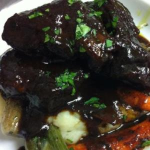 Coffee Braised Beef Short Ribs